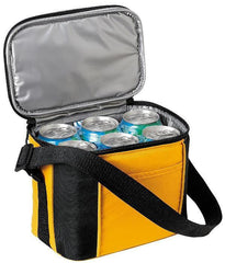 6-Pack Water Resistant Cooler Lunch Bag