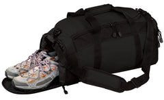 Polyester Gym Bag With Zippered Pockets