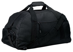 600 Denier Polyester Large Duffel With Zip Pockets