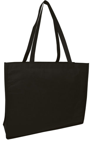 250 ct Promotional Large Size Non-Woven Tote Bag - By Case