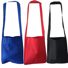 Budget Cheap Messenger Tote Bag with Long Straps (CLOSEOUT)