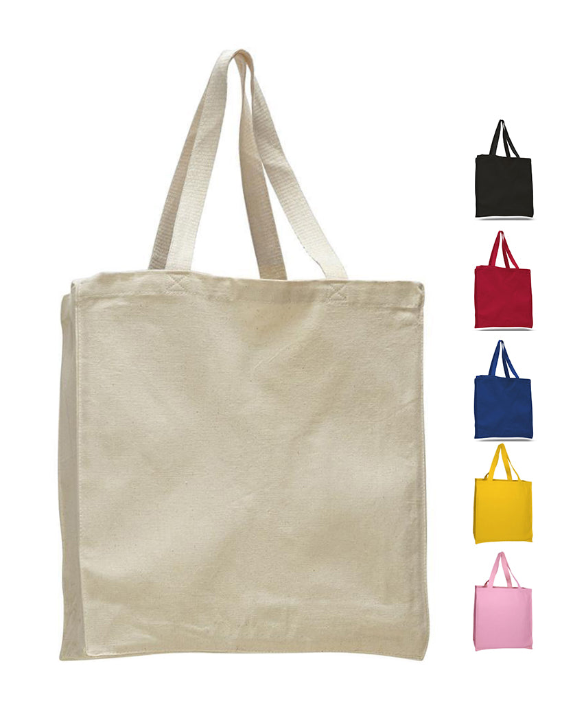 0f23144f93eb Heavy Canvas Wholesale Tote bags With Full Gusset - TF230