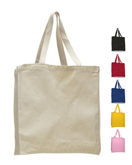 Heavy Canvas Tote Bag - Wholesale Tote Bags With Full Gusset