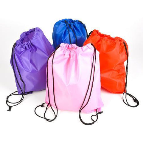Small Polyester Drawstring Bags (CLOSEOUT)