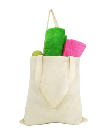 Affordable Natural 100% Cotton Tote Bag Promotional Priced TL100