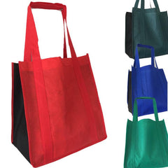 Two-Tone Grocery Shopping Tote Bag Wholesale