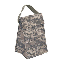 Digital Camo Lunch Bag  W/ Front Pocket