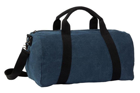 Weekender Washed Cotton Canvas Duffel Bag