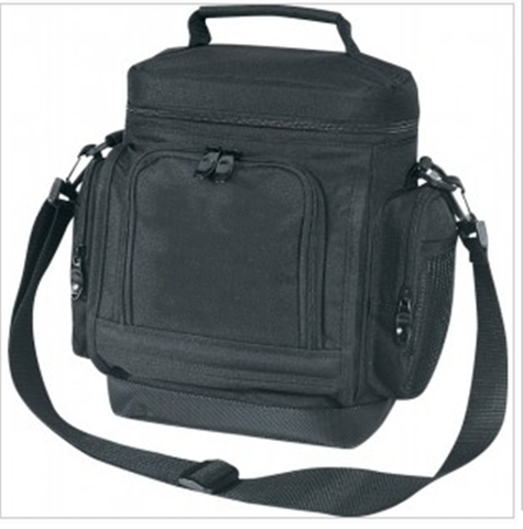 Insulated Polyester Cooler Bags with Side Pockets