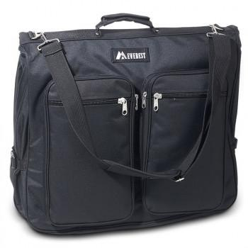 Large Deluxe Garment Bag W/Five Zippered Pockets