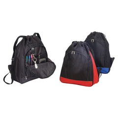 Deluxe Polyester Drawstring bag Backpack. BPK280