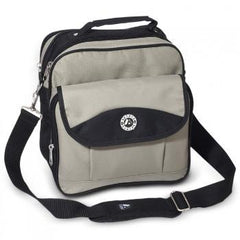 Discount Khaki / Black Deluxe Utility Bag - Large Cheap