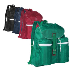 Spacious Rucksack Backpack With Two Exterior Pockets
