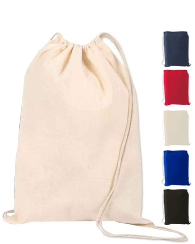 12 ct Large Size Sport Economical Drawstring Bag - By Dozen