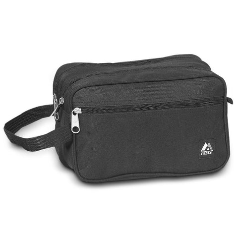Dual Compartment Durable Toiletry Bags