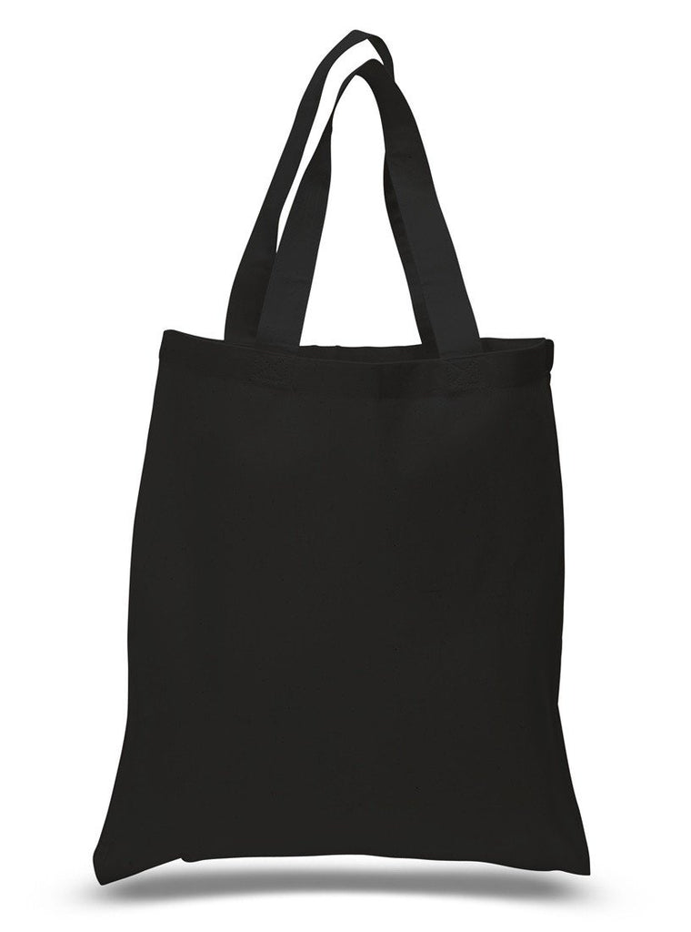 ... Black Economical Cotton Reusable Tote Bag ... 55b6156e1