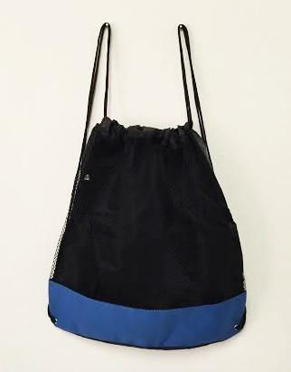 Large Poly-Mesh Bag / Drawstring Backpack