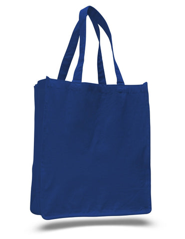 Jumbo Size Heavy Canvas Wide Shopper Tote Bag - TF240 (CLOSEOUT)