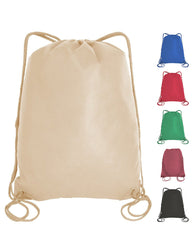 PACK OF 12 Promotional 100/% Cotton Wholesale Drawstring Bags Sack Packs Cinch Bags