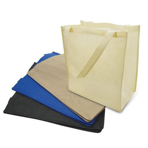 250 ct Large Polypropylene Grocery Tote Bag W/Gusset - By Case