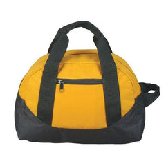 "12"" Mini Size Two Tone Duffle Bag"