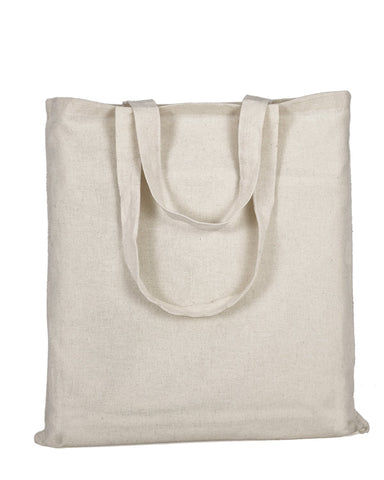 Affordable Cotton Natural Gusset Tote Bag - TG110L