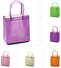 Colorful Wedding Favor / Bachelorette Party Gift Bags - Mini Tote Bags  TJ762 (CLOSEOUT)