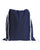 navy small size drawstring backpack by tbf