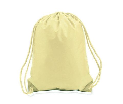 Drawstring Backpacks Cinch Bags - MEDIUM - POL10 (CLOSEOUT)