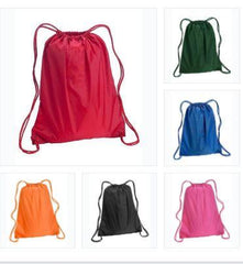 Polyester Drawstring Bags, Cheap Promotional Backpacks