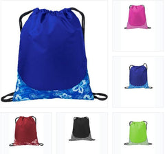 Patterned Drawstring Backpacks and Cinch Bags