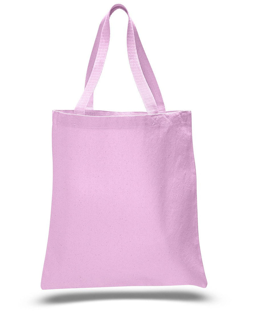 18266c941e ... Light Pink Heavy Canvas Tote Bags ...