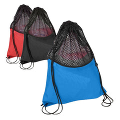 Durable Drawstring Mesh Bag. BPK282