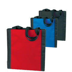 Wholesale Durable Two-Tone Polyester Tote Bags