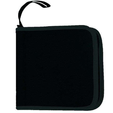 Durable Two-Tone Polyester 24 CDs Holder