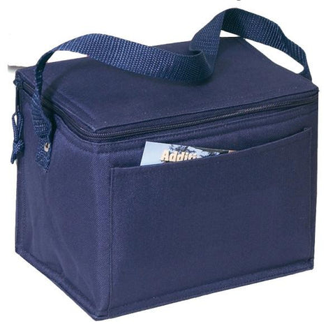 Promotional Polyester 6-Can Cooler Lunch Bags