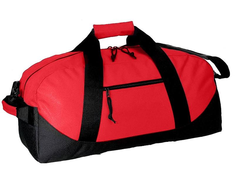 3c66c4874a4c ... Wholesale Polyester Duffle Bags With Heavy Vinyl Backing in Red color  ...