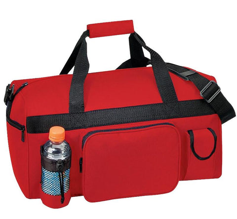 Stylish Wholesale Duffle Bag with Heavy Vinyl Backing (CLOSEOUT)