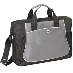 600D Polyester Deluxe Briefcase with Heavy Vinyl Backing
