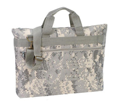 Digi Camo Document Bag with Adjustable Strap