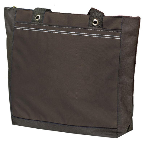 Polyester Tote Bag With Large Zip Compartment