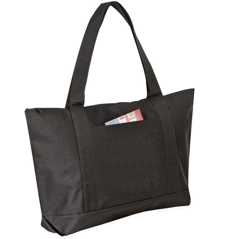 Polyester Beach Tote Bags with Zipper