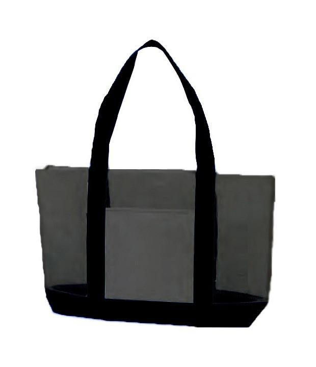 105d6efd3 Nylon Mesh Large Tote Bag With Zipper