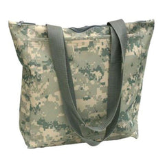 Polyester Digital Camo Tote Bag with Zipper
