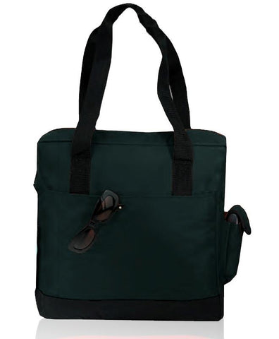 Durable Poly Tote Bag with Zipper (CLOSE OUT )