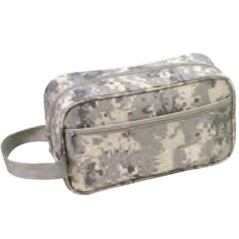 Nylon Digital Camo Travel Kit