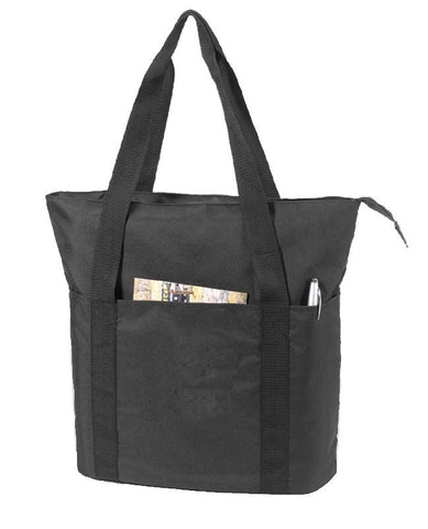 Eco Recycled Zippered Tote Bag
