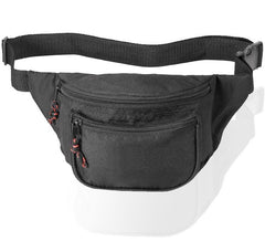 Eco Fanny Pack with Three Zippered Pockets