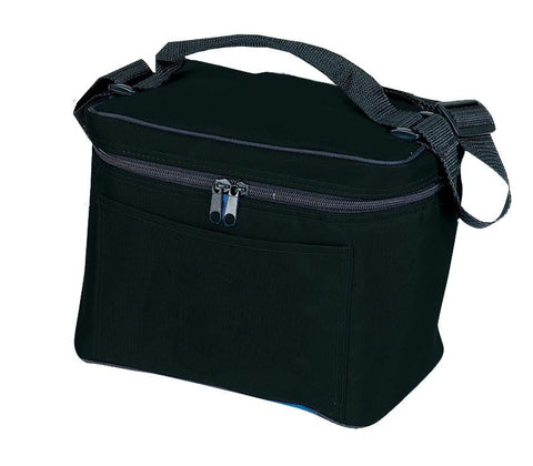 Deluxe Nylon 6-Pack Cooler Lunch Bags