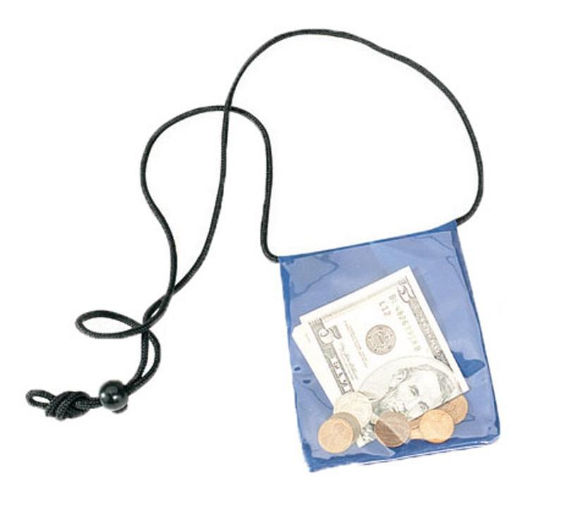 Badge Holder/Coin WALLET with Two Zippered Pocket